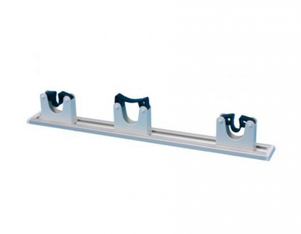 DI Wallplate with 3 White Holders